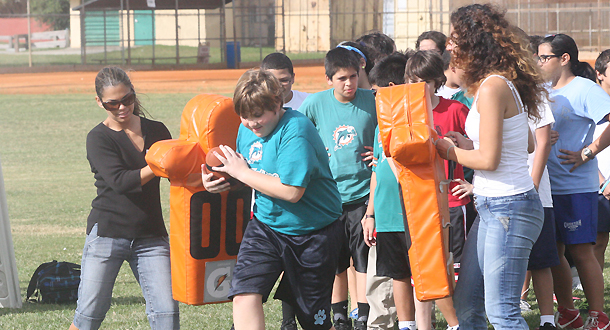 Miami Dolphins Youth Football Clinic on December 4 in Fort Myers